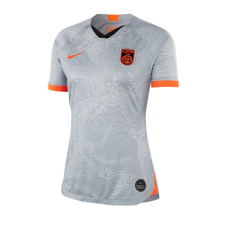 Nike China Trikot Away Damen WM 2019 Grau F012 - Grau