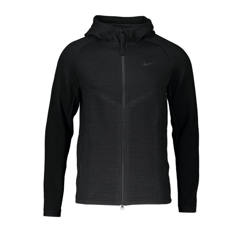 Nike Tech Windrunner Full-Zip Kapuzenjacke F010 - schwarz