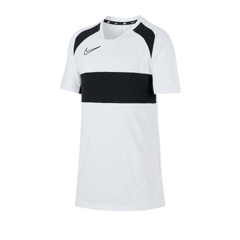 Nike Academy Trainingstop kurzarm Kids F100 - weiss