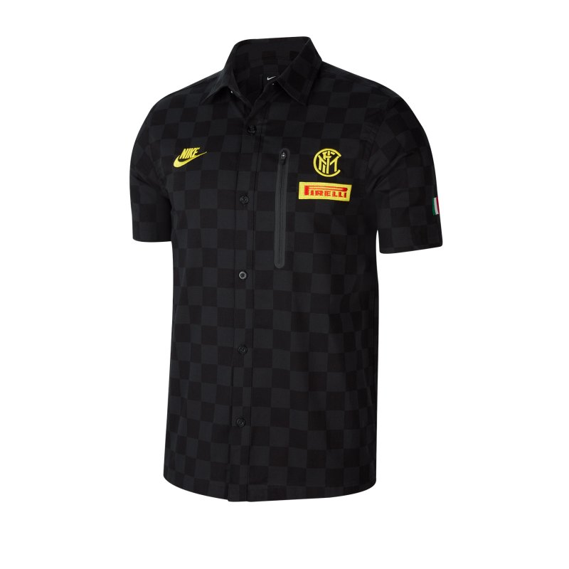 Nike Inter Mailand Pirelli T-Shirt kurzarm F010 - schwarz