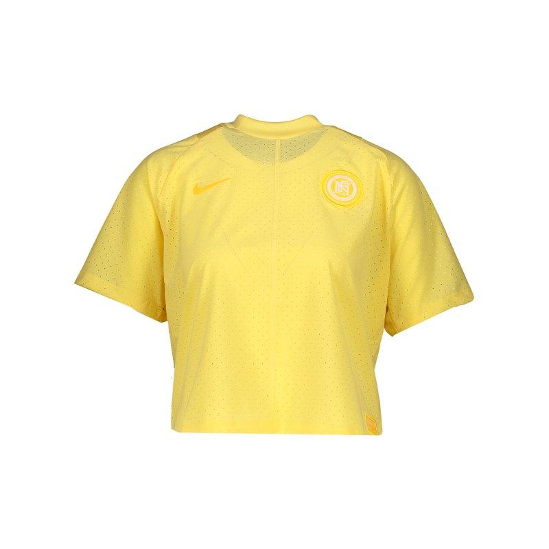 Nike F.C. T-Shirt Jersey Damen F795 - gold