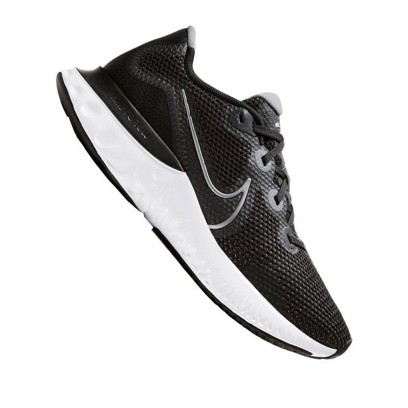 Nike Renew Run Running Damen Schwarz F008 - schwarz