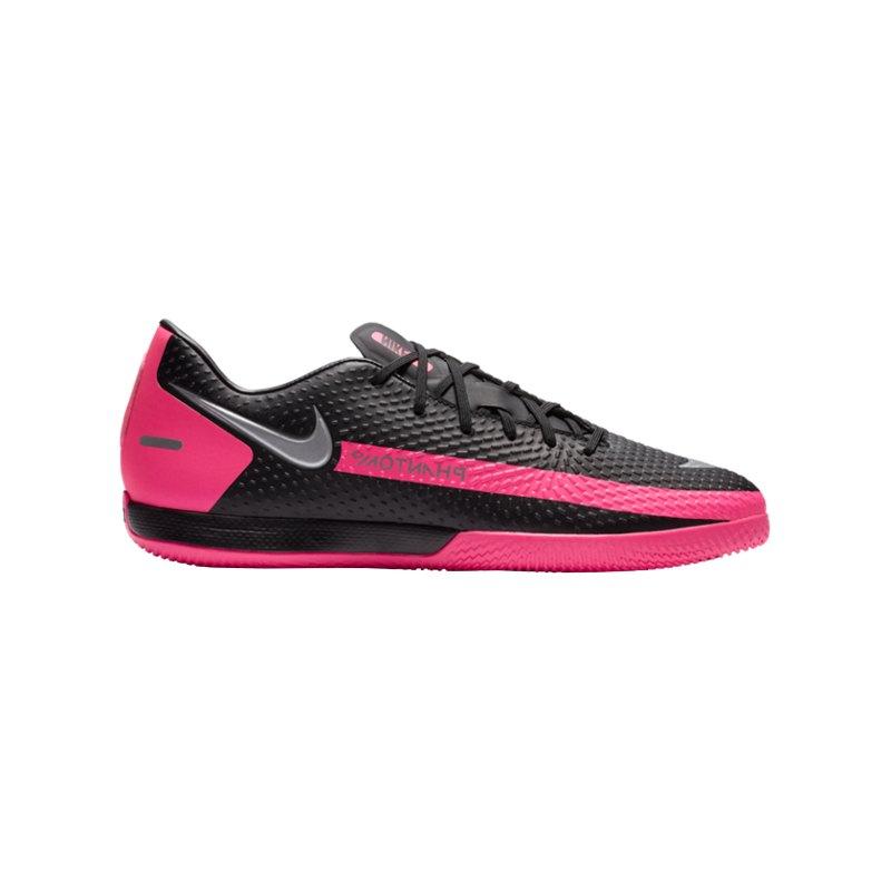 Nike Phantom GT Academy IC Schwarz F006 - schwarz
