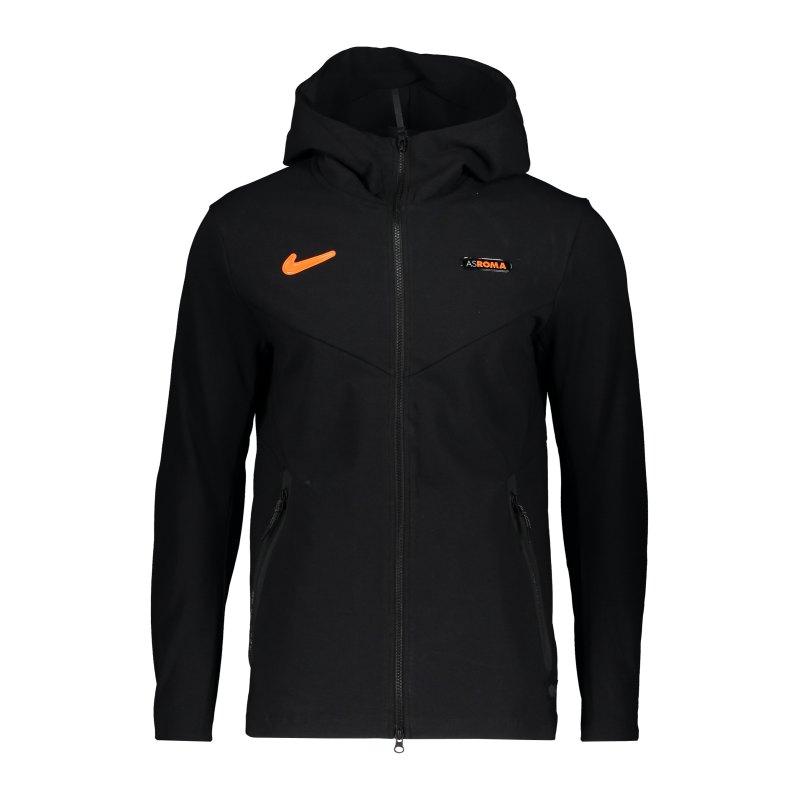 Nike AS Rom Tech Pack Kapuzenjacke CL Schwarz F010 - schwarz