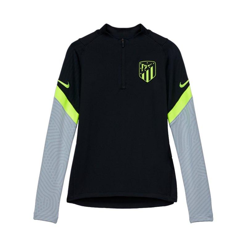 Nike Atletico Madrid Dry Strike Drill Top CL Kids Schwarz F010 - schwarz