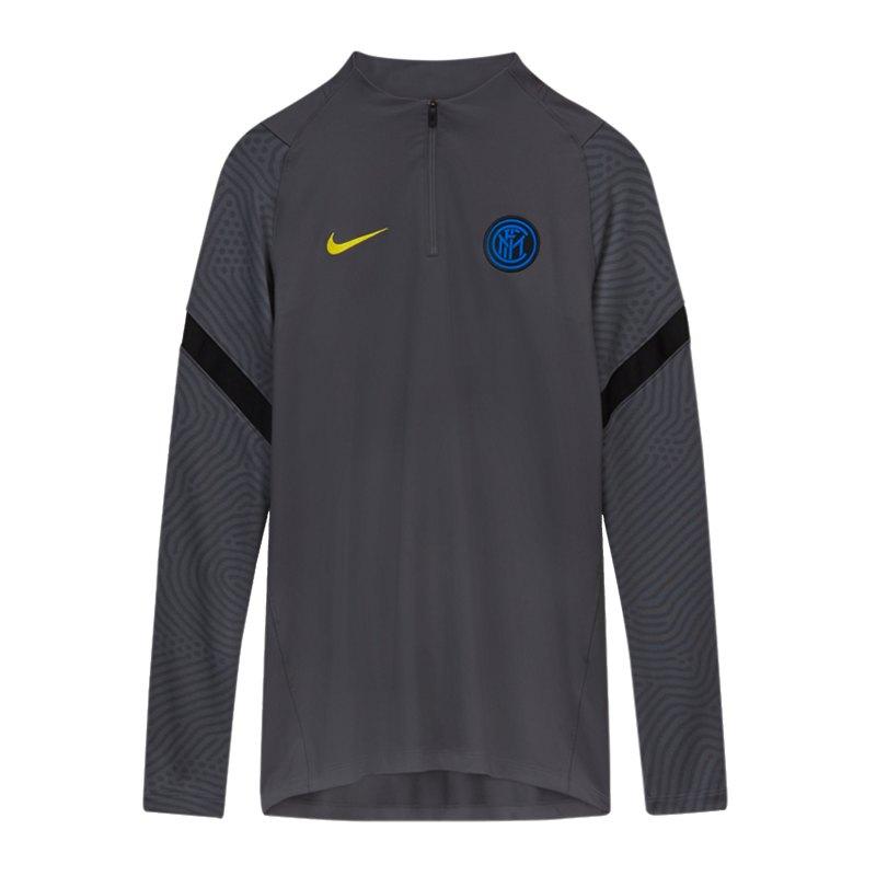 Nike Inter Mailand Drill Top Kids Grau F021 - grau