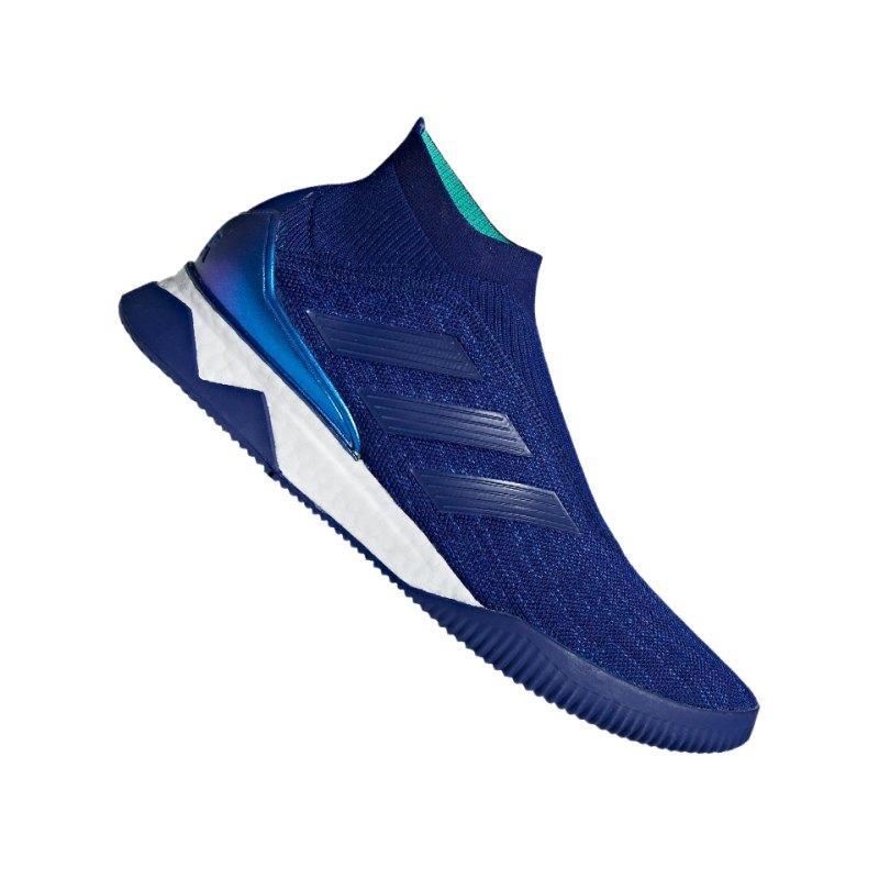 adidas Predator Tango 18+ TR Blau Grün - blau