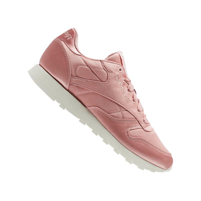 Reebok Classic Leather Satin Sneaker Damen Pink - pink