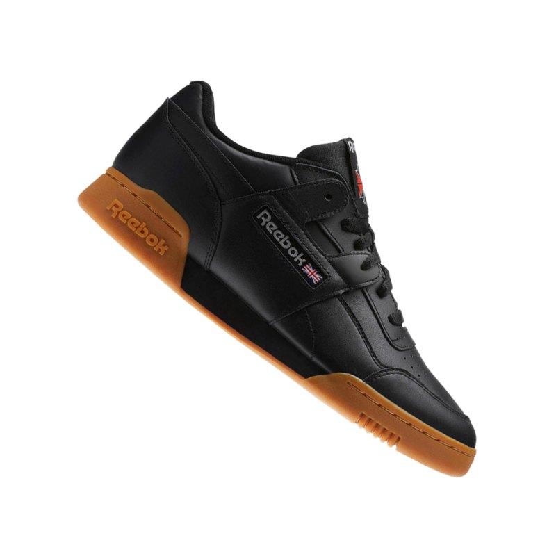 Reebok Workout Plus Sneaker Schwarz - schwarz