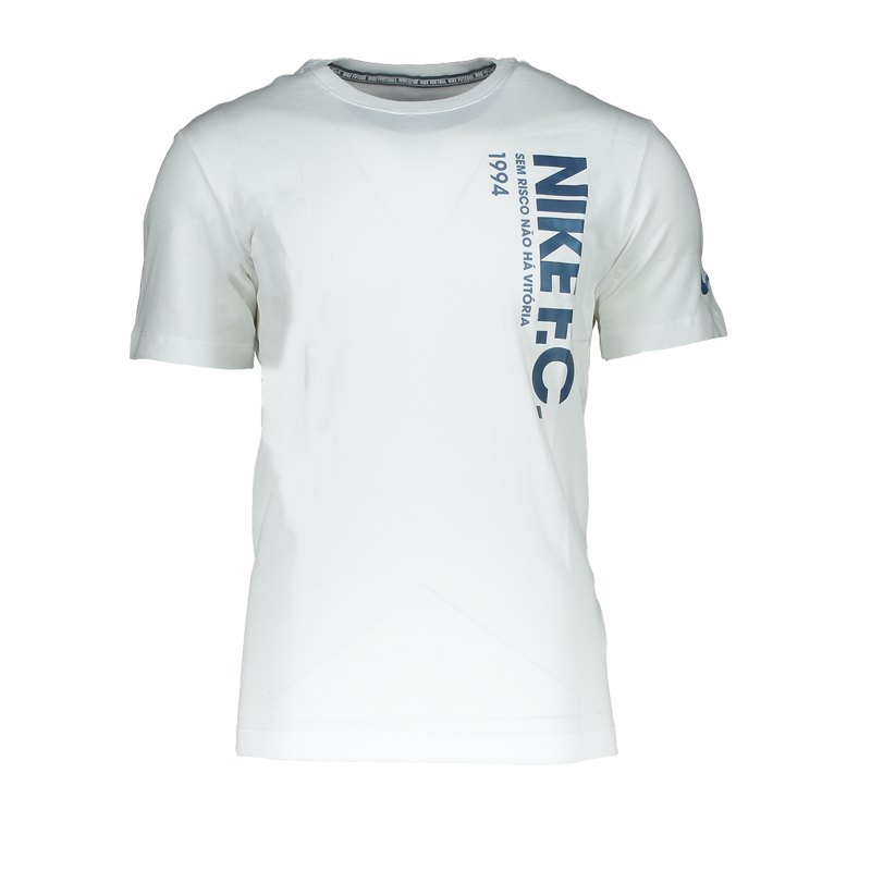Nike F.C. Tee T-Shirt Weiss F100 - weiss