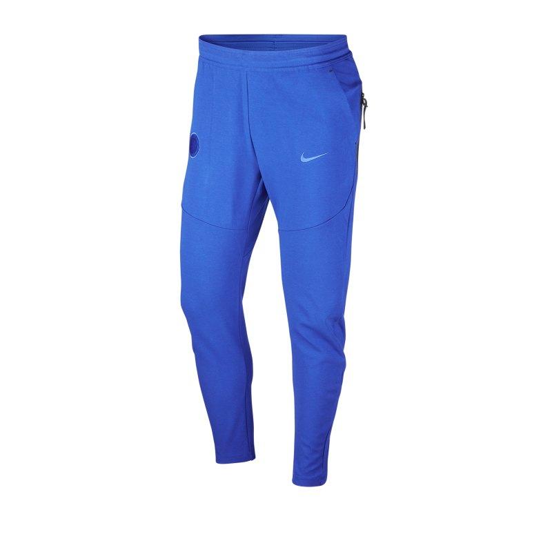 Nike FC Chelsea London Tech Pants Hose lang F495 - blau