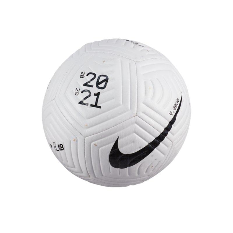 Nike Club Flight Trainingsball Weiss F100 - weiss
