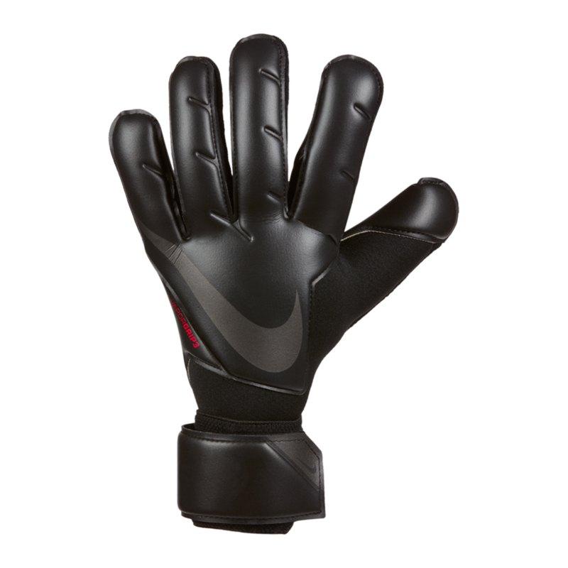 Nike Vapor Grip3 Black X Chile Torwarthandschuh Schwarz Rot F011 - schwarz
