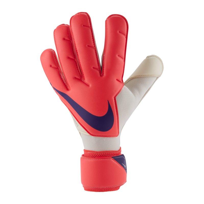 Nike Vapor Grip3 Torwarthandschuh Rot Lila F635 - rot