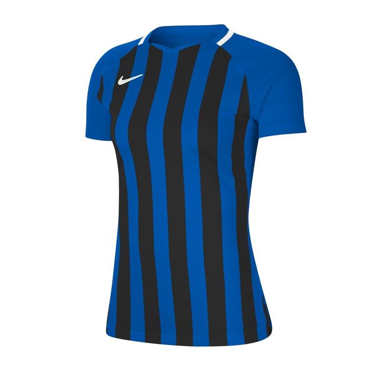 Nike Striped Division III Trikot KA Damen F463 - blau