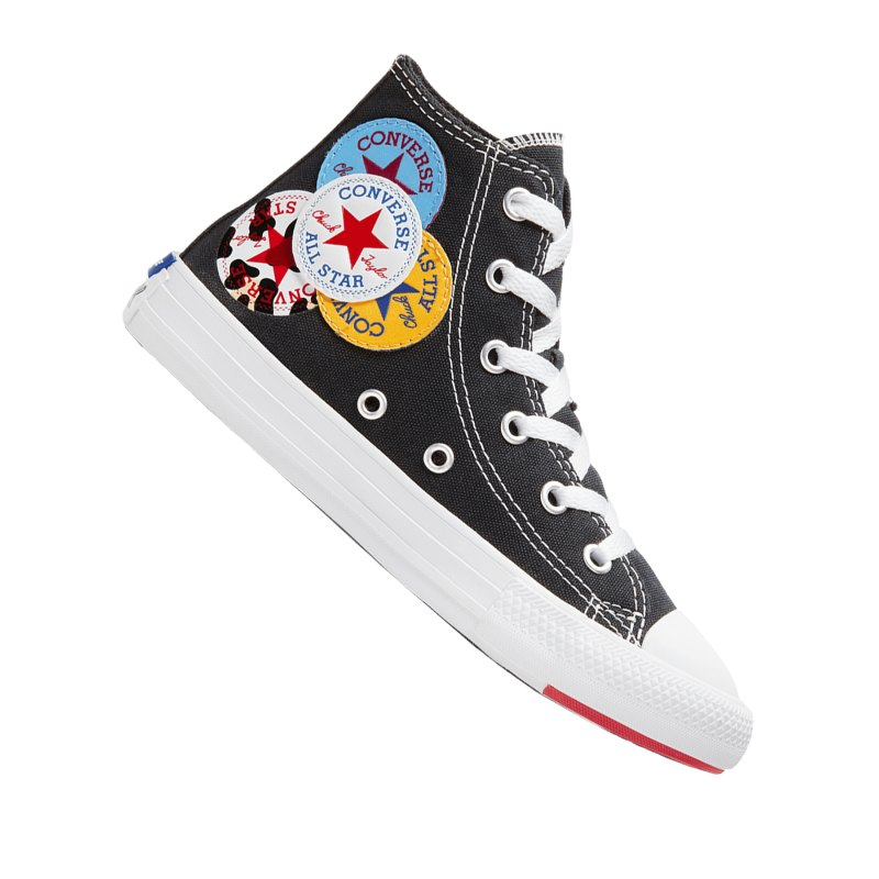 Converse Chuck Taylor AS Sneaker Kids Schwarz F001 - schwarz