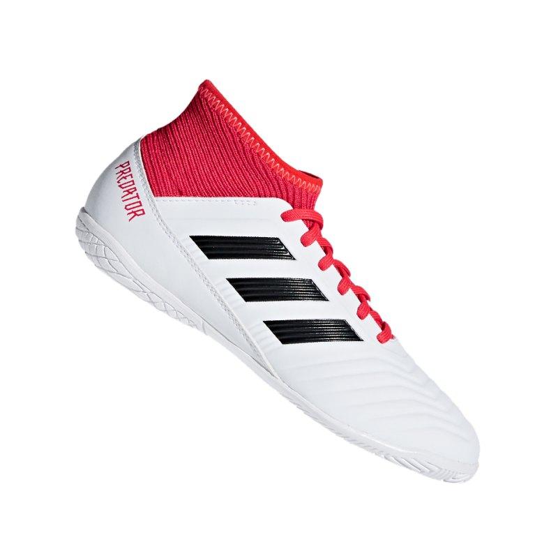 adidas Predator Tango 18.3 IN Halle J Kids Schwarz - weiss
