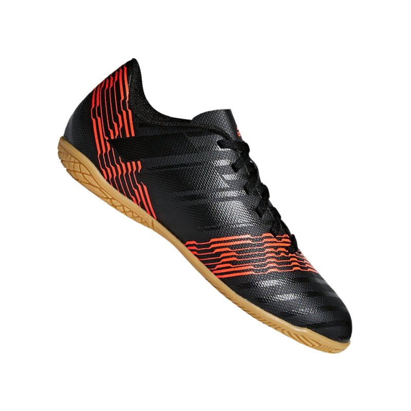 adidas NEMEZIZ Tango 17.4 IN Halle J Kids Schwarz - schwarz