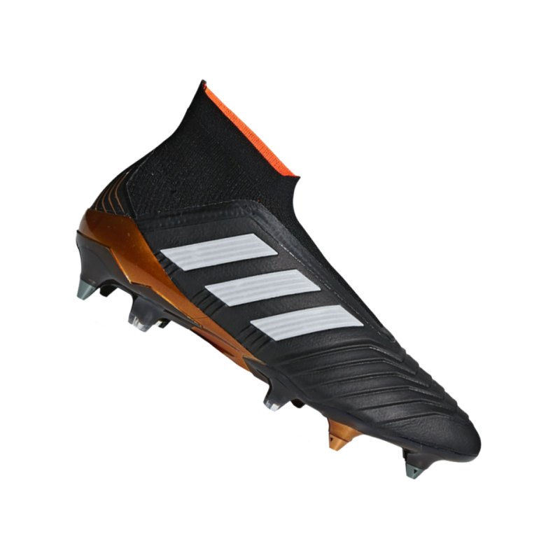 adidas Predator 18+ SG Schwarz Weiss - schwarz