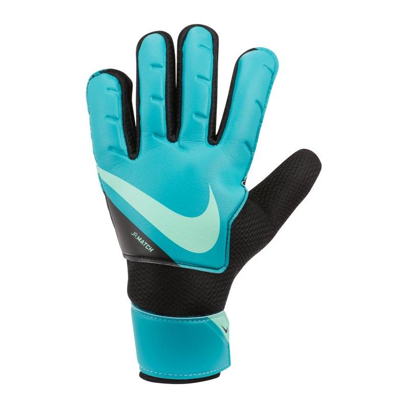 Nike Jr. Match Torwarthandschuh Kids Blau F356 - tuerkis