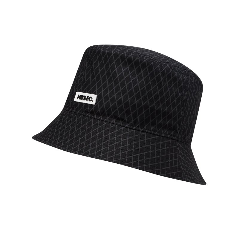 Nike F.C. Bucket Hat Mütze Schwarz F010 - schwarz