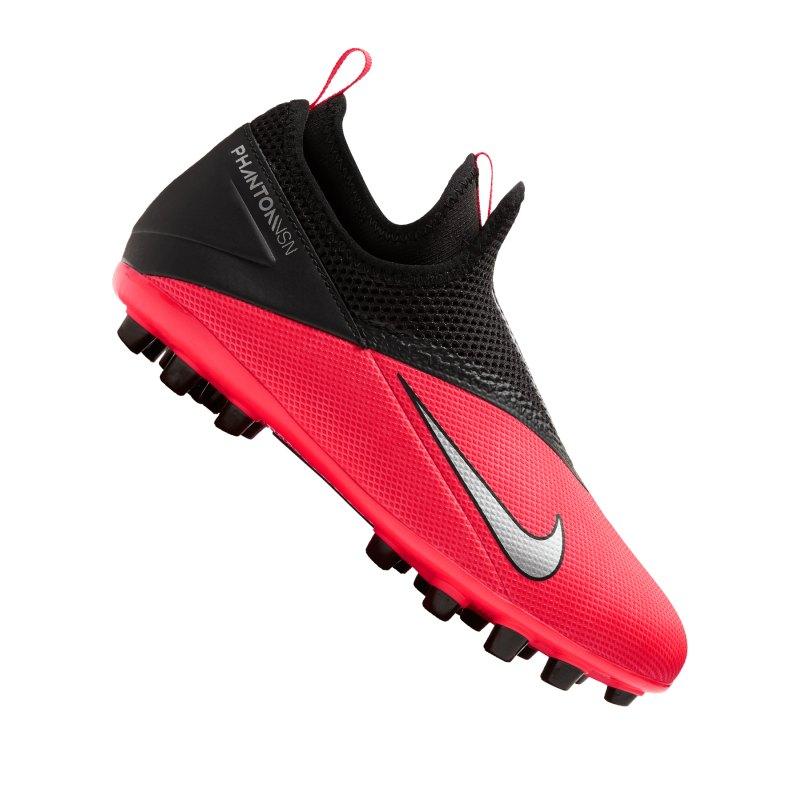 Nike Jr Phantom Vision II Academy DF AG Rot Kids F606 - rot