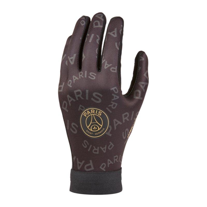 Nike Paris St. Germain Spielerhandschuh Grau F010 - schwarz