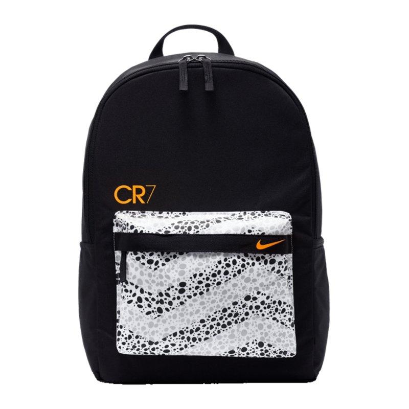 Nike CR7 Rucksack Schwarz F010 - schwarz