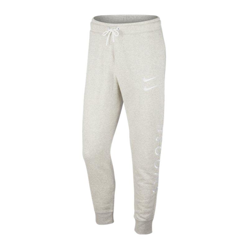 Nike Swoosh Jogginghose Grau F063 - grau