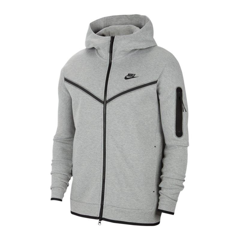 Nike Tech Fleece Windrunner Grau F063 - grau