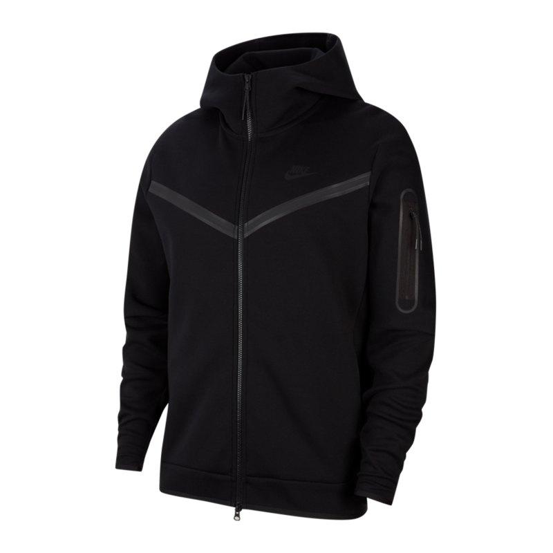 Nike Tech Fleece Windrunner Schwarz F010 - schwarz