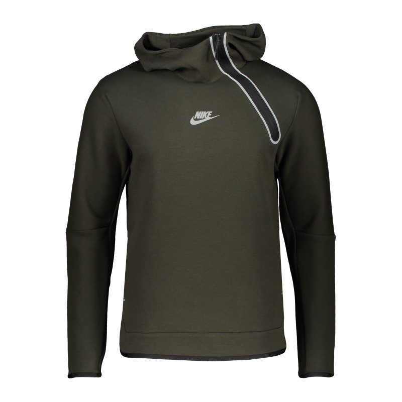 Nike Tech Fleece Hoody Grün F355 - gruen