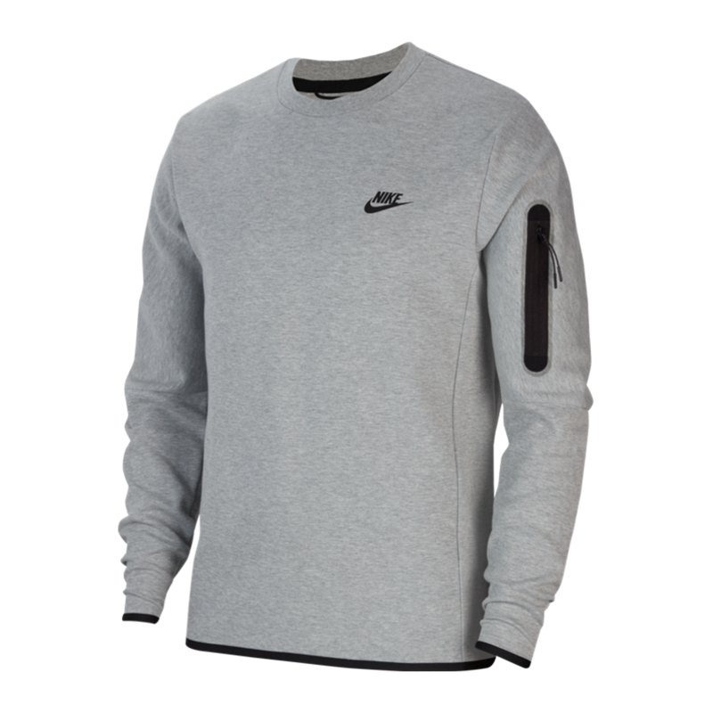 Nike Tech Fleece Crew Sweatshirt Grau F063 - grau