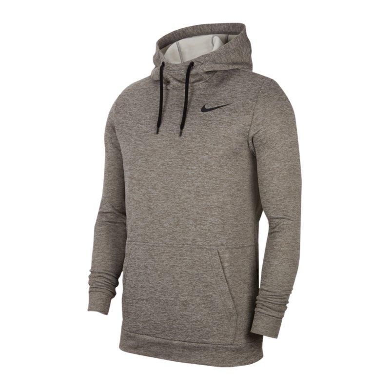 Nike Therma Hoody Grau F063 - grau