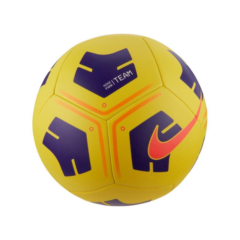 Nike Park Trainingsball Gelb Lila F720 - gelb