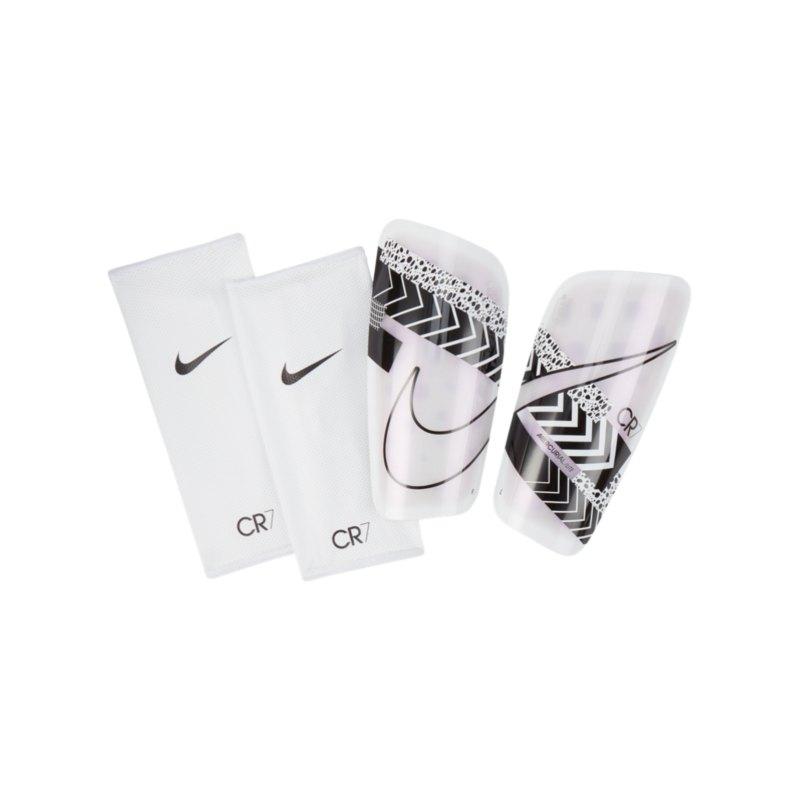Nike Mercurial Lite CR7 Schienbeinschoner F100 - weiss