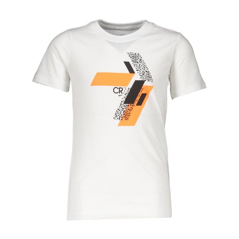 Nike CR7 Hook T-Shirt Kids Weiss F100 - weiss
