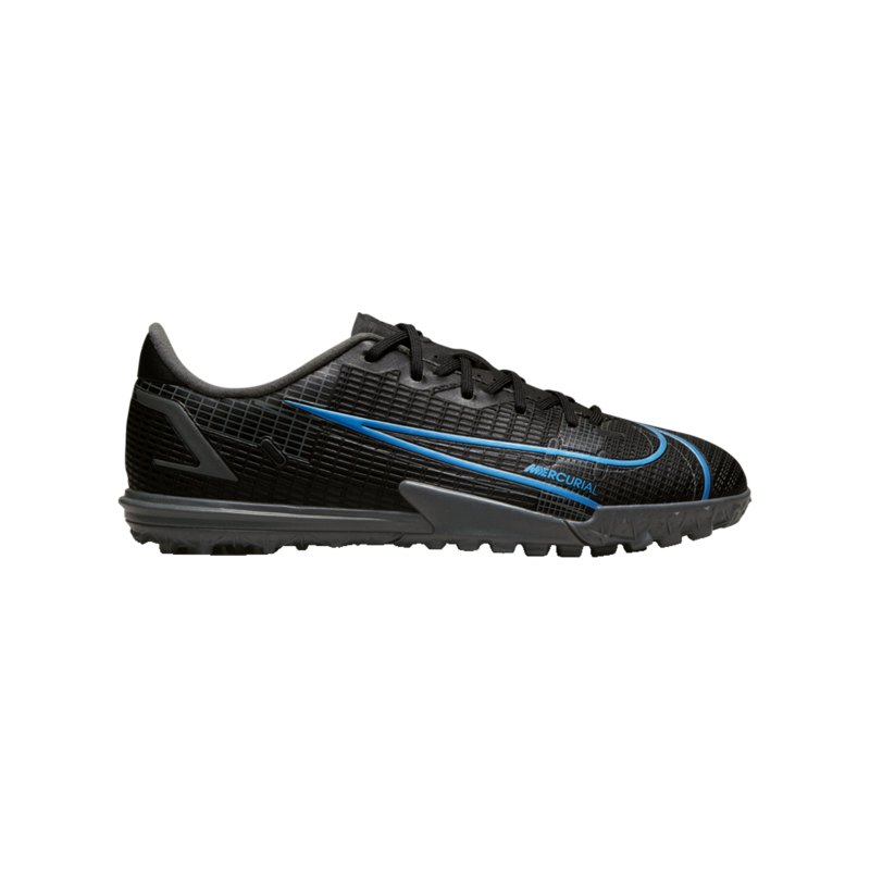 Nike Jr Mercurial Vapor XIV Renew Academy TF Kids Schwarz F004 - schwarz