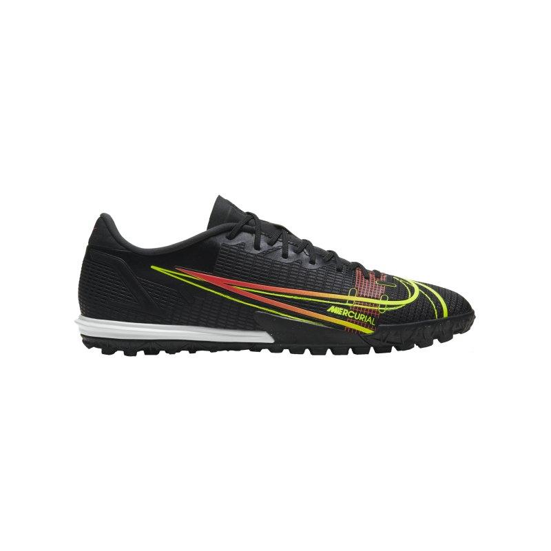 Nike Mercurial Vapor XIV Black X Prism Academy TF Schwarz F090 - schwarz