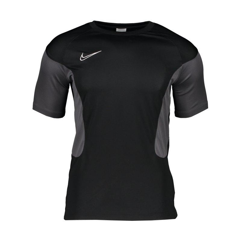 Nike Dry Academy T-Shirt Schwarz Grau F010 - schwarz