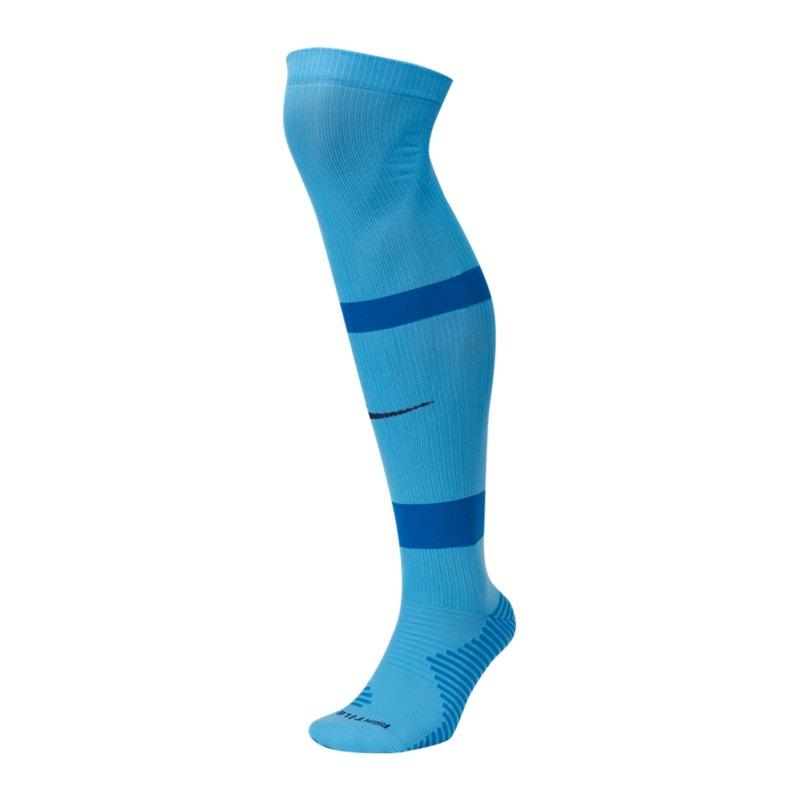 Nike Matchfit OTC Knee High Stutzenstrumpf F412 - blau
