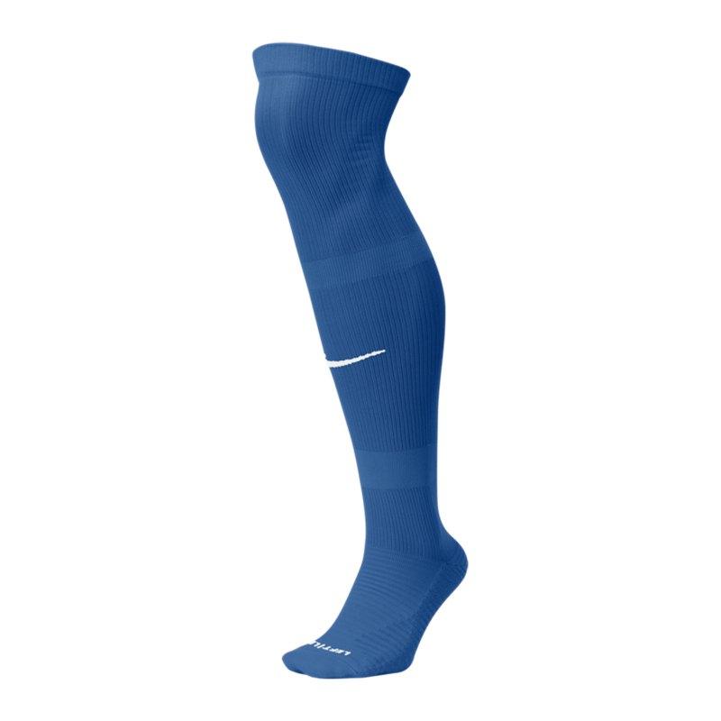 Nike Matchfit OTC Knee High Stutzenstrumpf F477 - blau