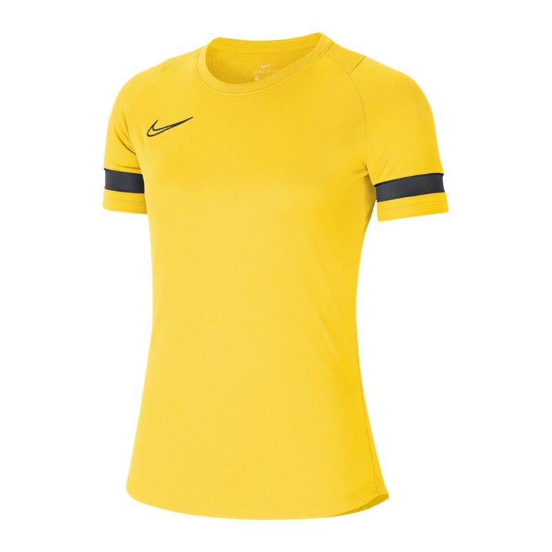 Nike Academy 21 T-Shirt Damen Gelb F719 - gelb