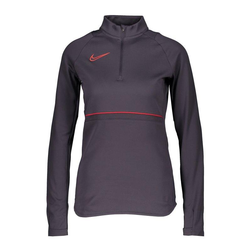 Nike Academy 21 Drill Top Damen Lila F573 - lila