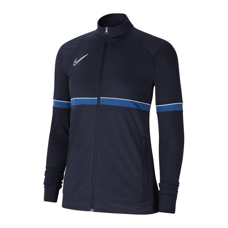 Nike Academy 21 Trainigsjacke Damen Blau F453 - blau