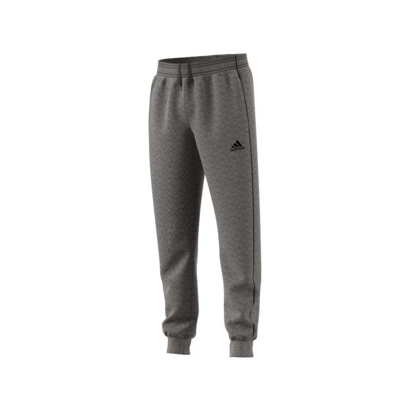 adidas Core 18 Sweat Pant Kids Grau Schwarz - grau