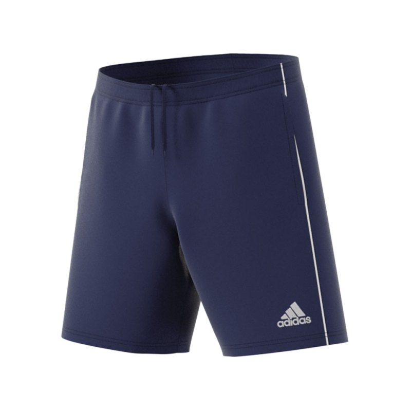 adidas Core 18 Training Short Dunkelblau - blau