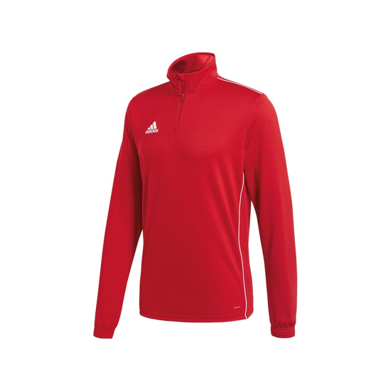 adidas Core 18 Training Top Rot Weiss - rot