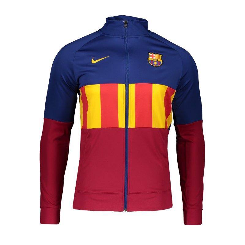 Nike FC Barcelona I96 Anthem Jacke Blau F455 - blau