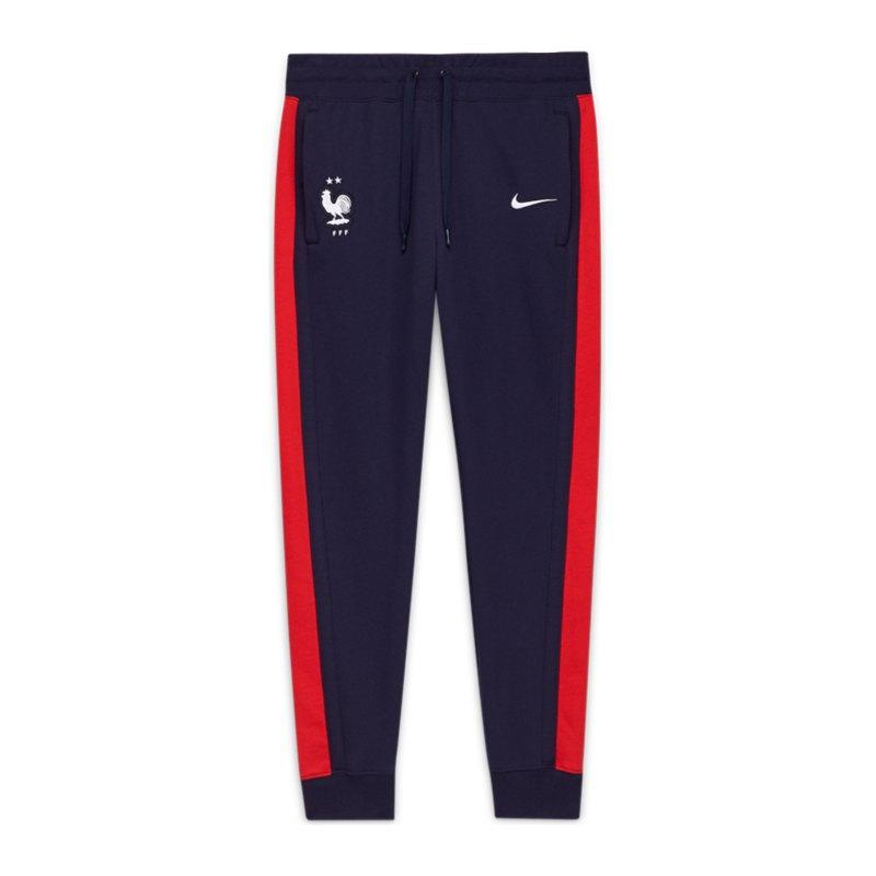 Nike Frankreich Air Fleece Jogginghose F498 - blau